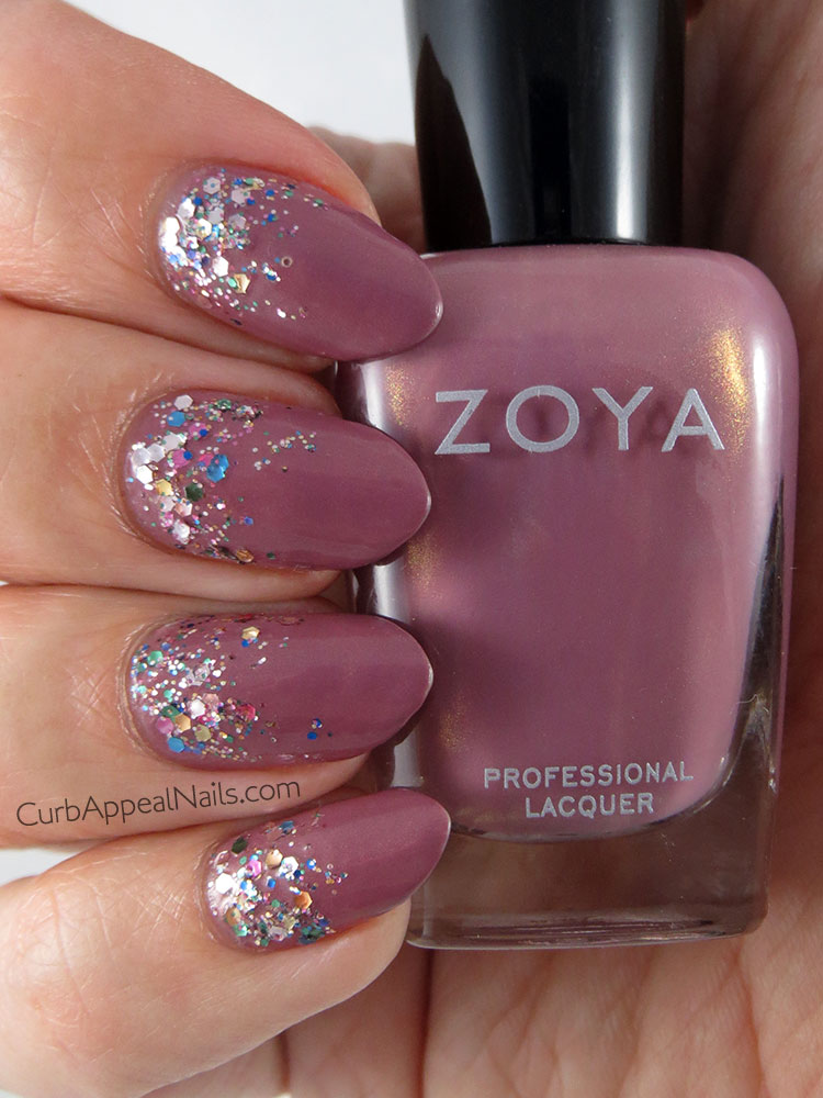 Curb Appeal Nails | Nail Art + Polish Blog: Zoya Charity with L ...