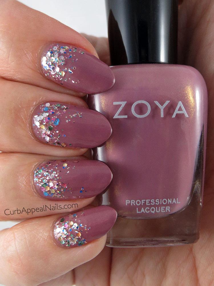 Curb Appeal Nails | Nail Art + Polish Blog: Zoya Charity with L ...