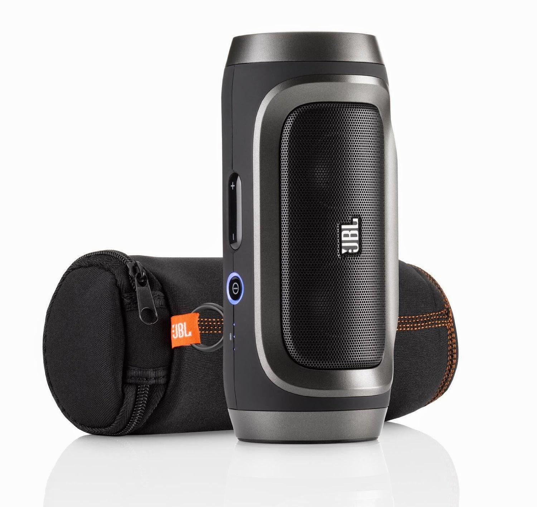 Bluetooth Speaker Portable Best: Best JBL Charge Portable Wireless Bluetooth Speaker (Black Shadow)
