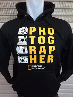 gambar detail jaket hoodie tempat jual jaket hoodie di jakarta online Jaket hoodie Photographer warna hitam terbaru musim 2015/2016