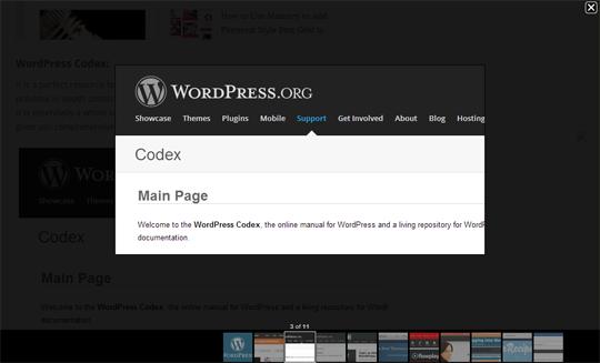 Trang trí lại lightbox mặc định của Blogger