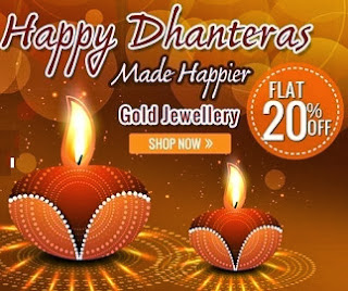 Enjoy Flat 20% additional off on Gold Jewellery at HomeShop18