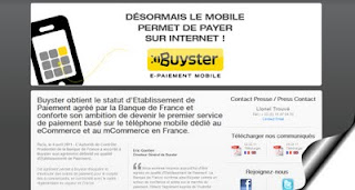 Site internet Buyster