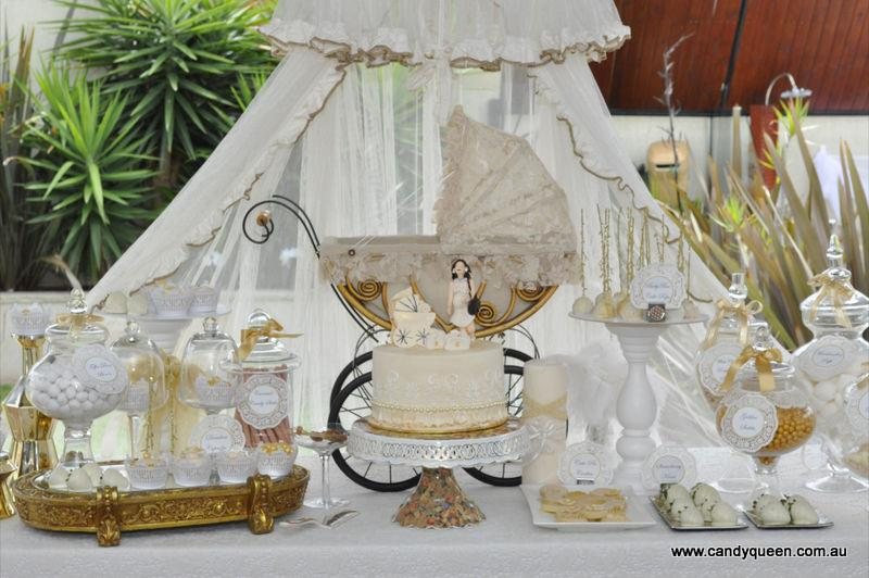 Little big company the blog vintage and elegant baby Elegant baby shower decorations
