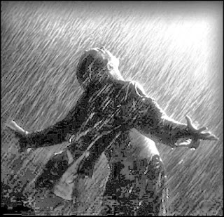 sad boy alone in rain-Dardbhari shayari
