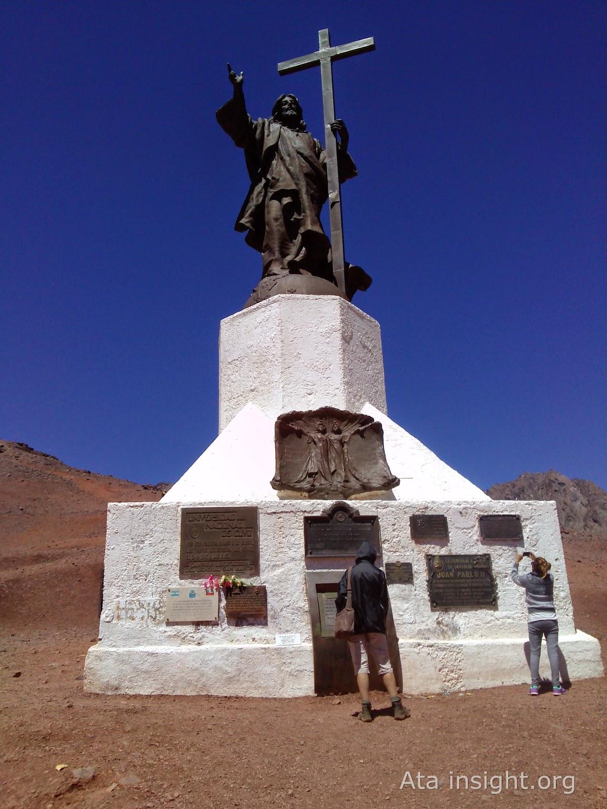 Cristo redentor de Mendoza
