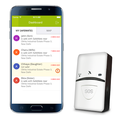 MapmyIndia launches SafeMate, a smart personal safety device for women, children and families for Rs. 6990