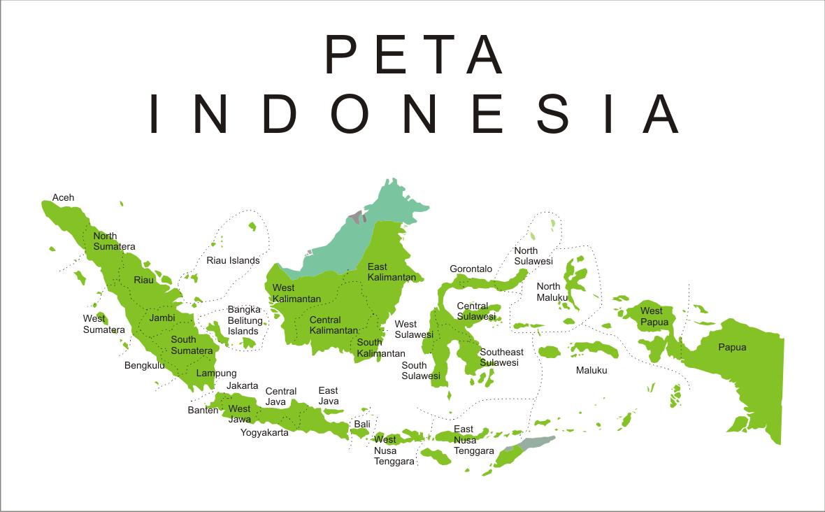 Peta Indonesia terbaru 2015, peta buta dan peta lengkap ...