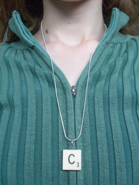 Diy Scrabble Tile Necklace Pendants