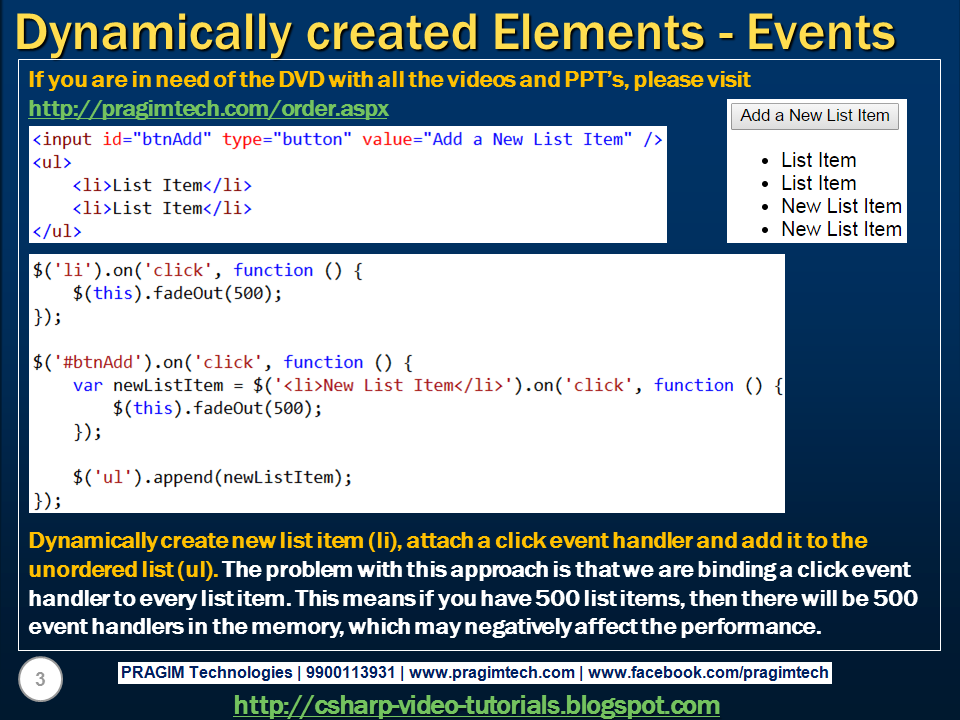 dynamically assign event handler javascript