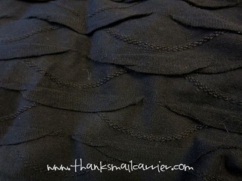 scalloped fabric