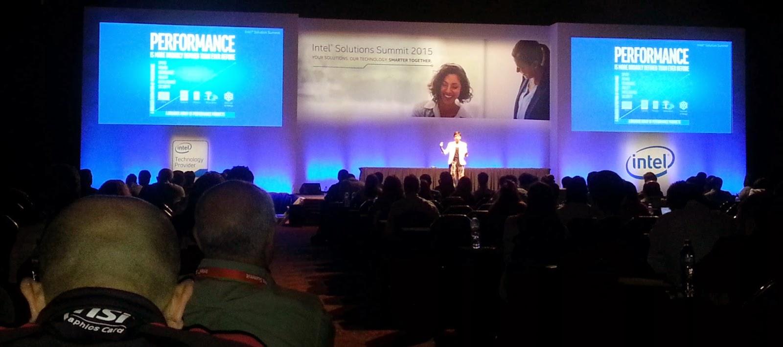 Intel Solutions Summit 2015