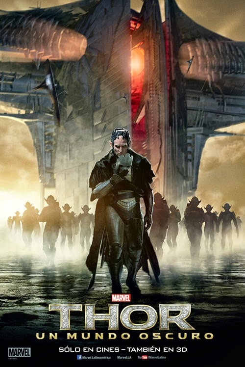 Nuevos posters de Thor: Un Mundo Oscuro