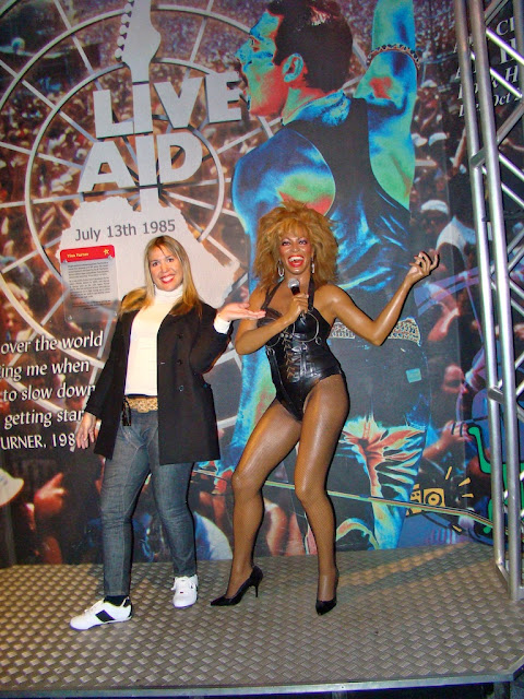 MADAME TUSSAUDS - TINA TURNER