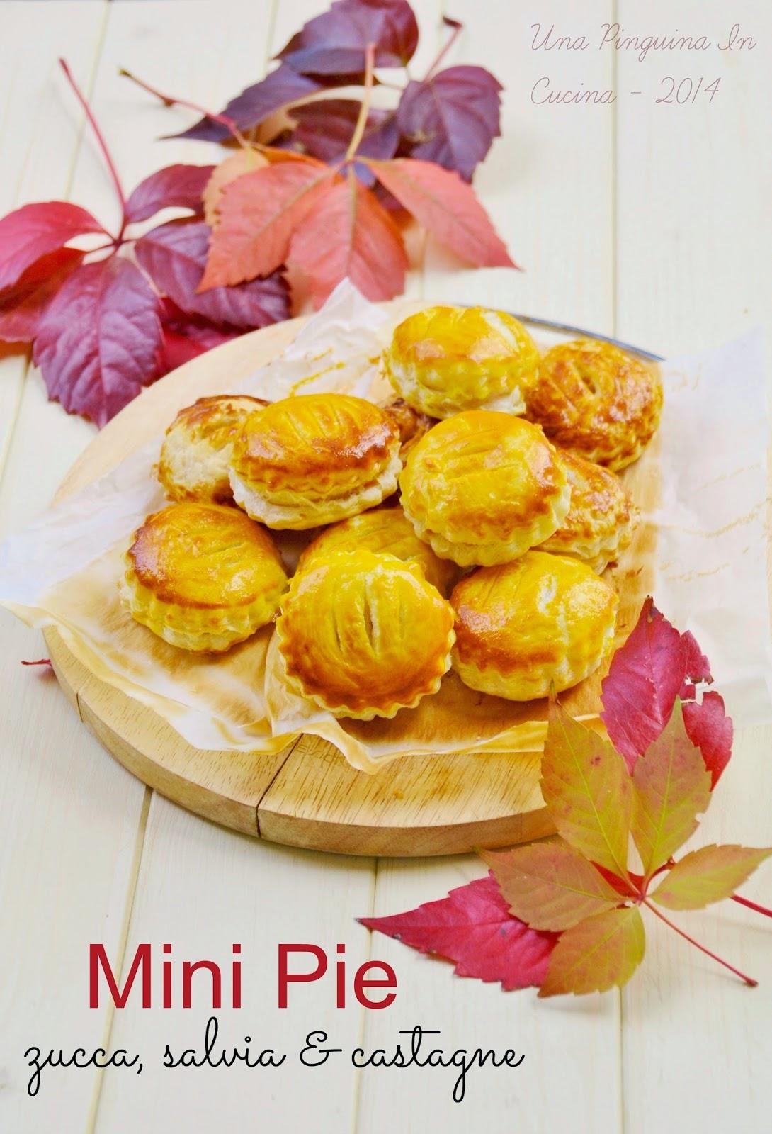 finger food autunno zucca e castagne