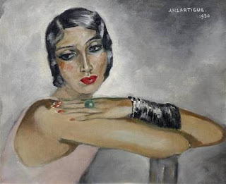 Lartique, painting, 1930