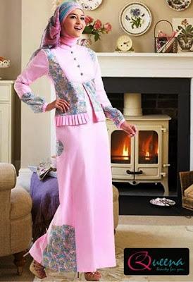 gambar baju muslim sifon terbaru