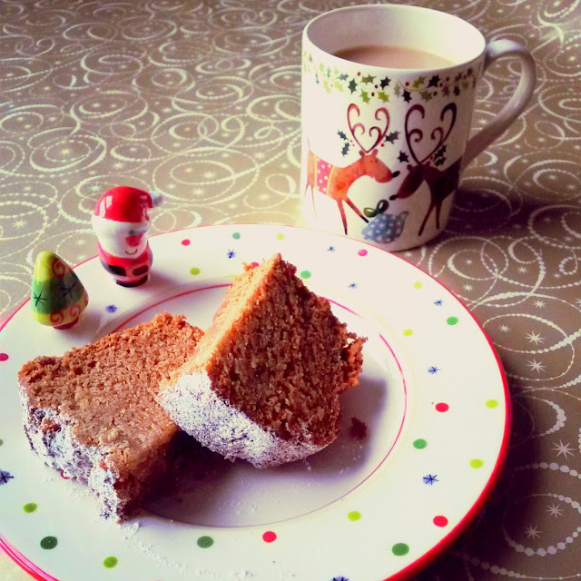 Homemade Christmas Gingerbread - perfect with a hot cuppa