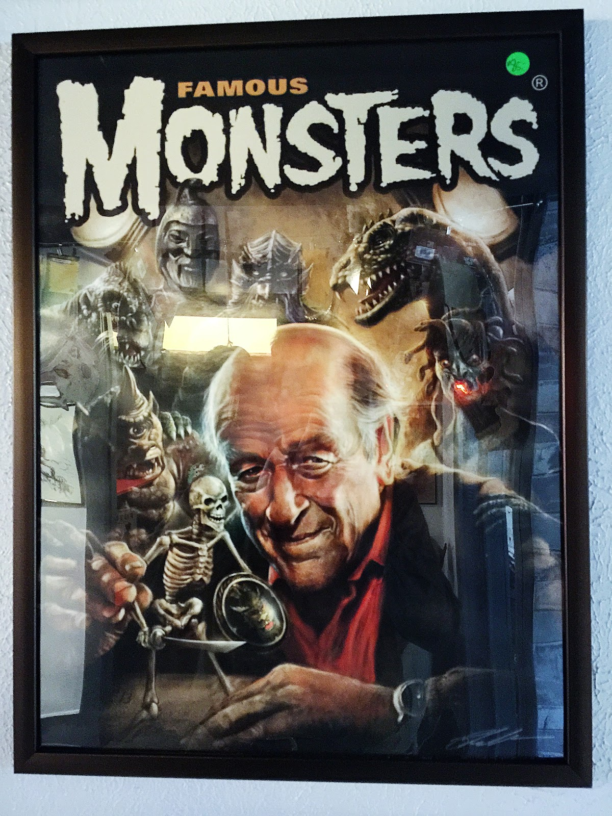 A tribute poster to Ray Harryhausen