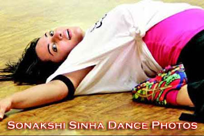 Sonakshi Sinha Hot Photos in black yoga paint