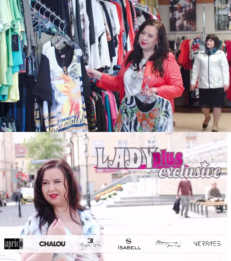 Reklama dla sklepu Lady Plus