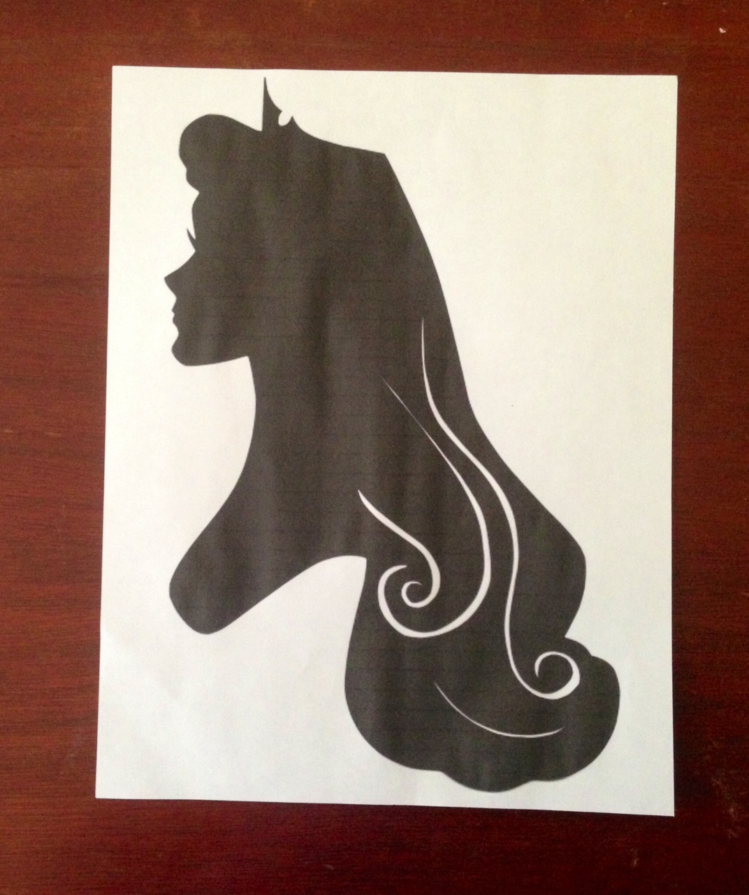 Using a Silhouette Cameo and FREE Disney Printables to