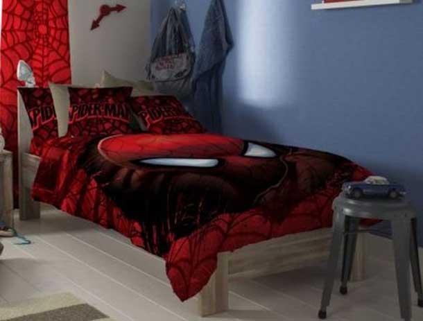 Interior Design Ideas: Superhero Bedding Theme For Boys Bedroom