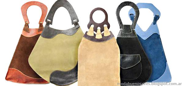Carteras y bolsos 2013 Huella Sur Argentina Moda