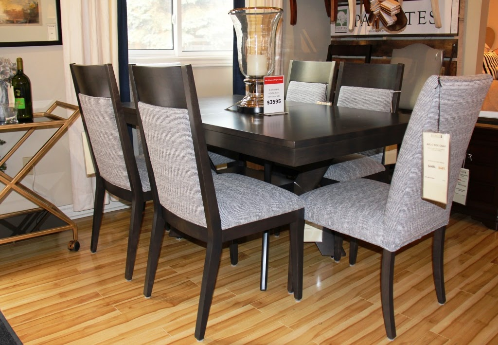 Rousseau 39 s fine furniture and decor dining room specials for Dining room furniture specials