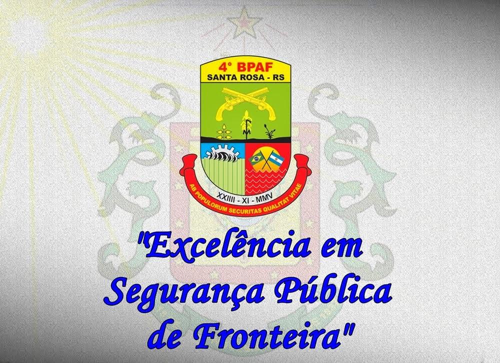 4º BPAF Batalhão de Polícia de Área de Fronteira