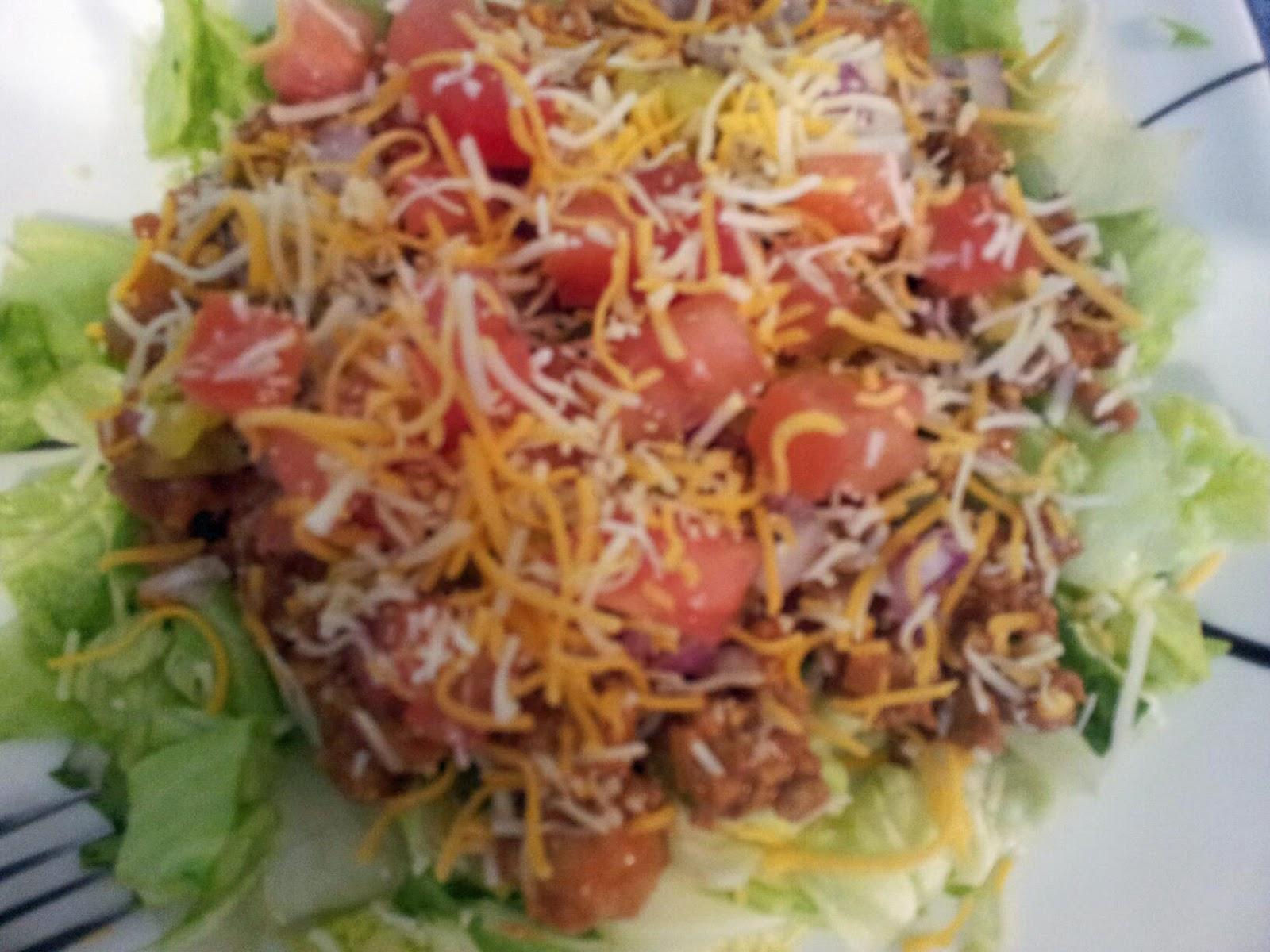 Cheeseburger Salad Recipe — Dishmaps