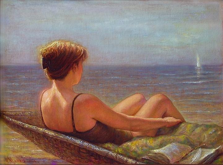Igor Maikov 1966 | Latvian painter