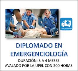 DIPLOMADO EN EMERGENCIOLOGÍA