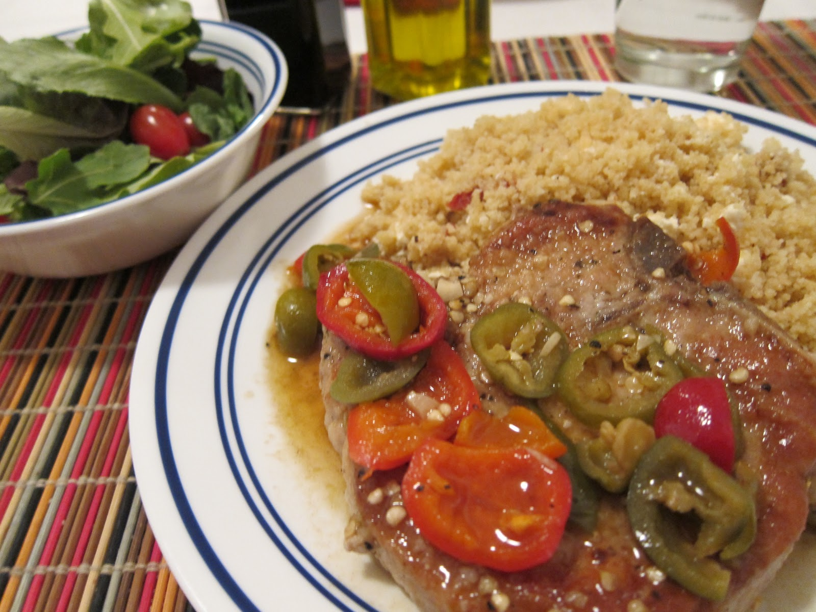 A Southern Italian Classic: Pork Chops With Vinegar Peppers