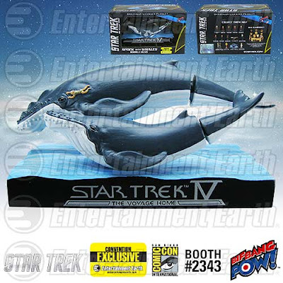 San Diego Comic-Con 2015 Exclusive Star Trek IV: Whales with Spock Bobble Head by Bif Bang Pow!