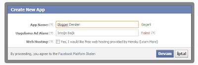 Facebook Öneriler Kutusu Tasarlamak