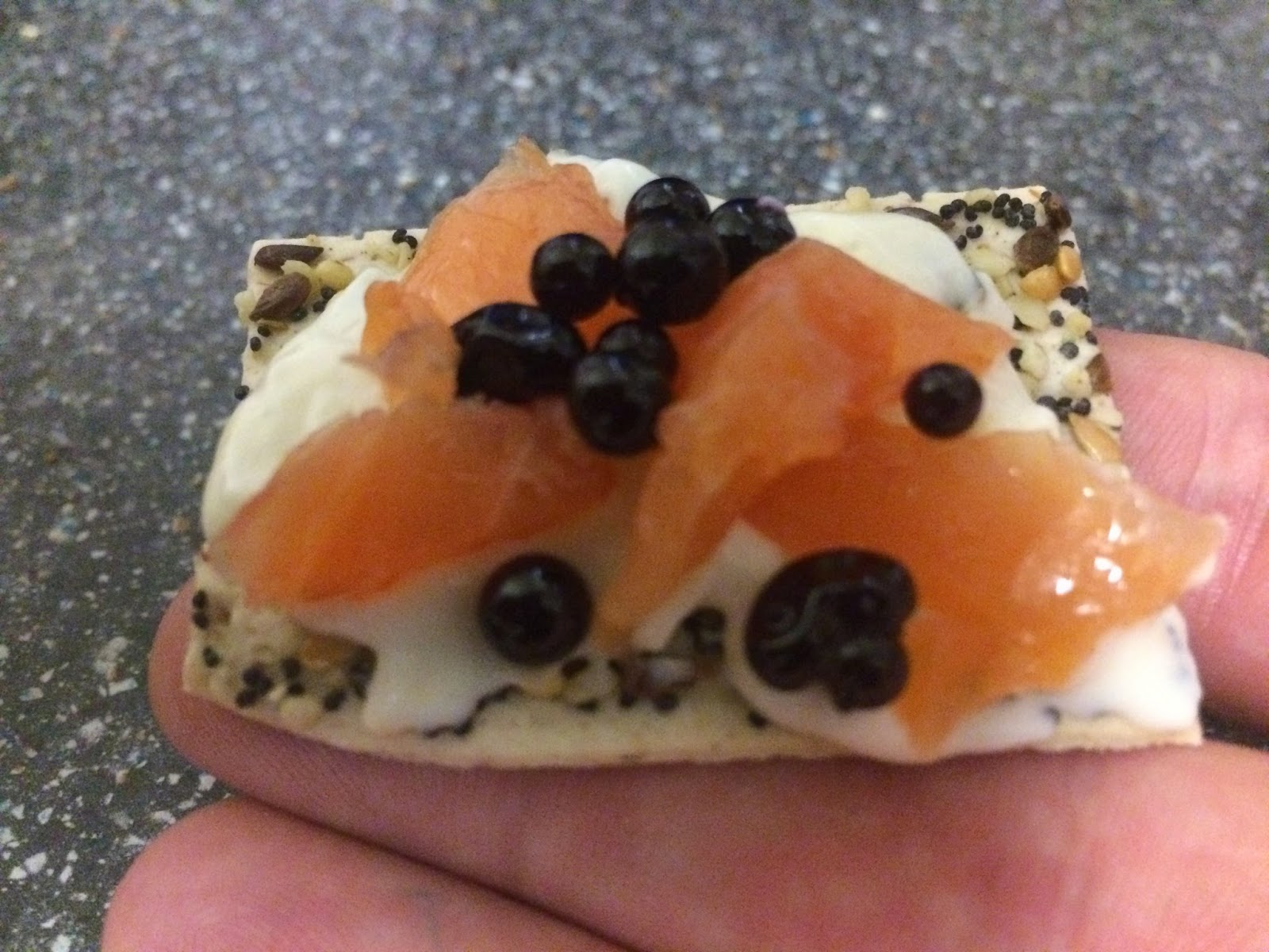 A review a day todays review tesco finest smoked salmon canaps todays review tesco finest smoked salmon canaps with beetroot pearls solutioingenieria Images