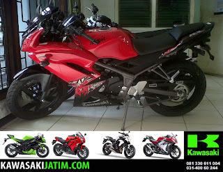 Ninja KRR 150RR Red