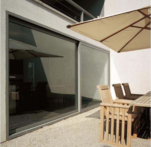 Cerramientos terrazas persianas y toldos distribuidor de - Puertas de aluminio para terrazas ...