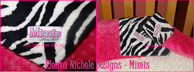 Elonka Nichole Review Giveaway Mimi Snuggy warm blanket