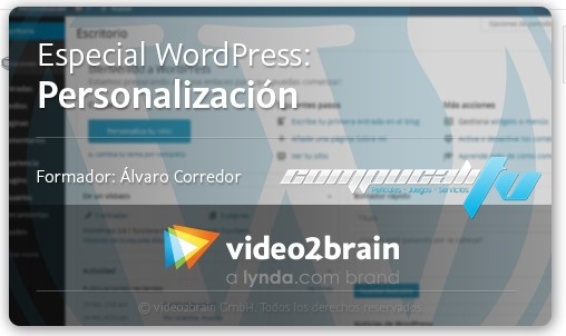 Curso Video2Brain: Especial WordPress: Personalización