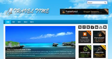 Travel Time WordPress Template