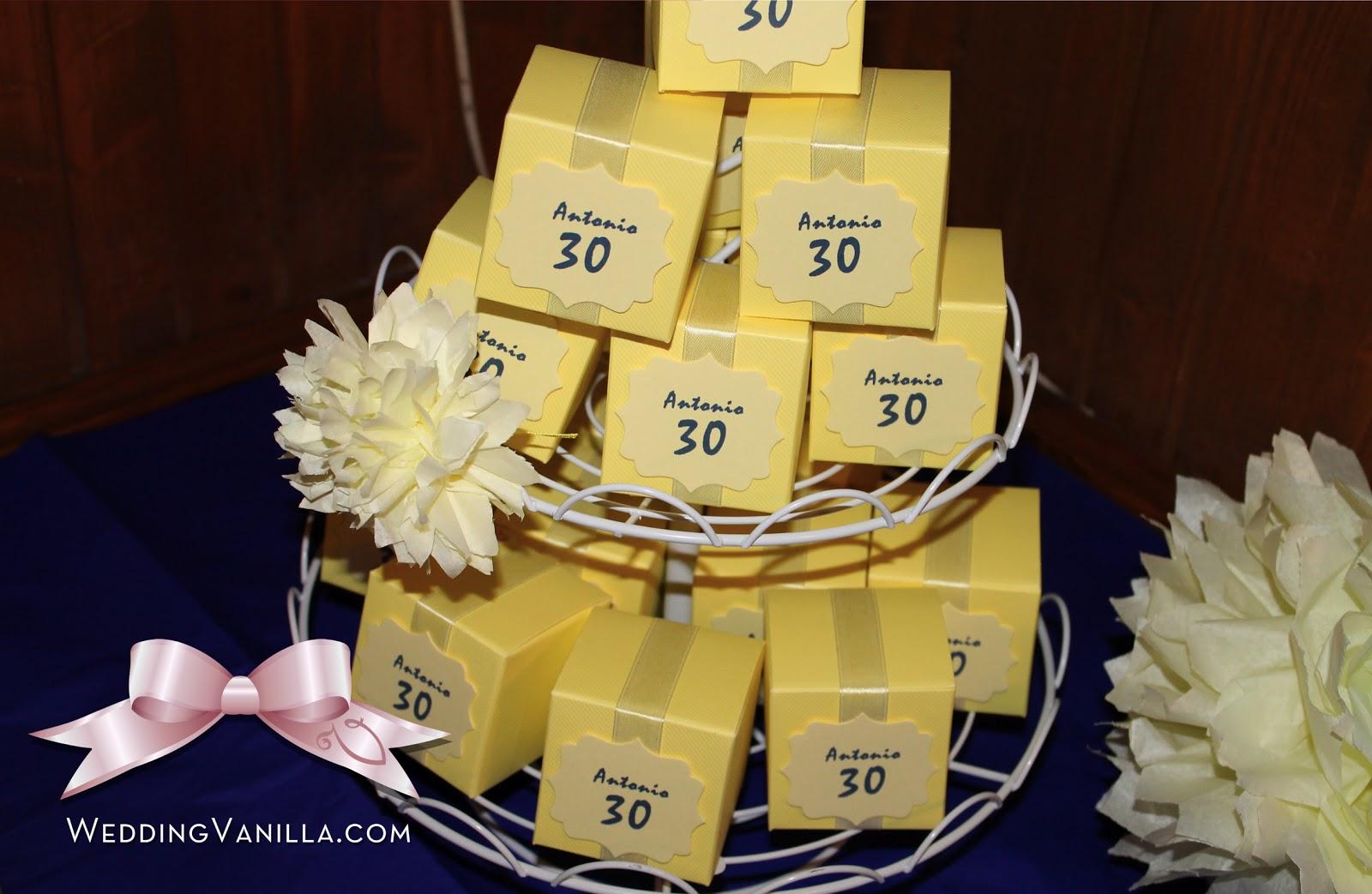 Ben noto Vanilla Wedding Design: 30 anni: Festa di compleanno di Antonio  GT44