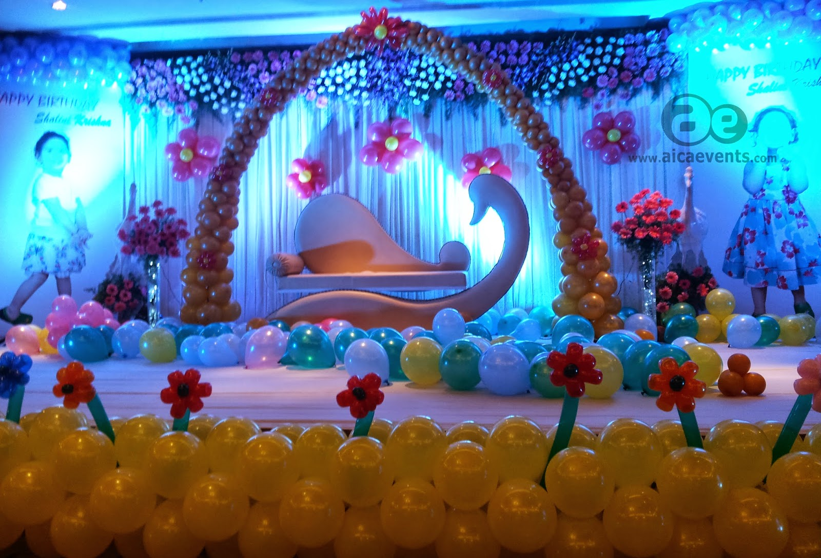 aicaevents Balloon Decorations for Birthday parties