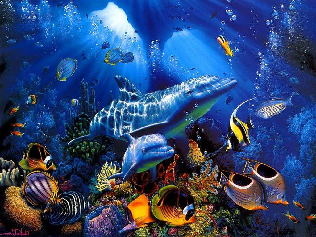 underwater cartoon wallpaper - photo #23