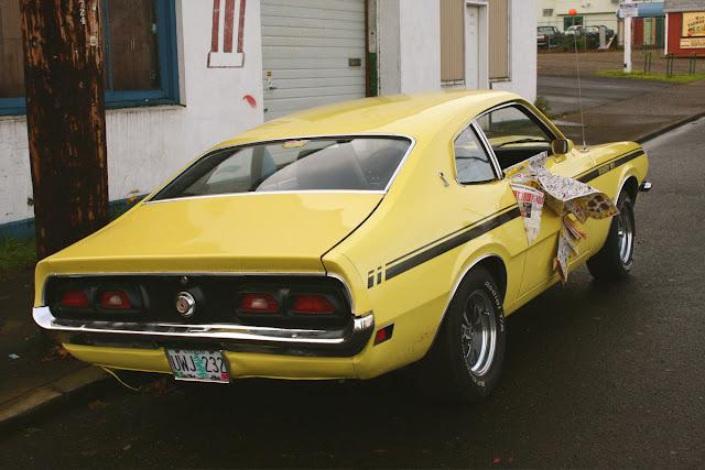 1972 Mercury Comet GT.