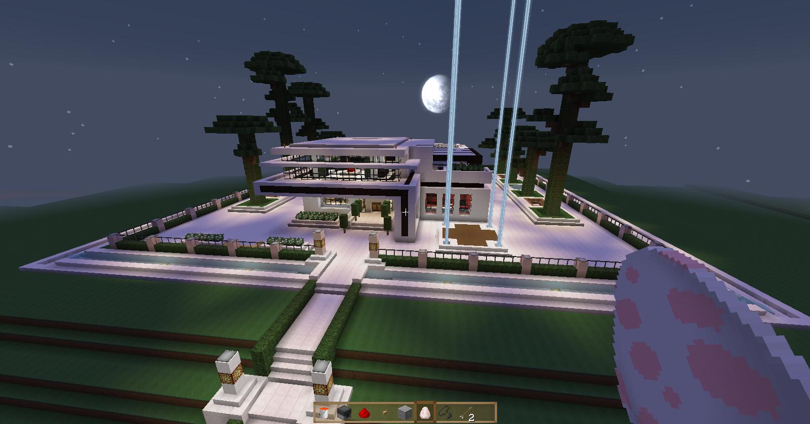 Super casa sue o de cuarzo minecraft schematics for Minecraft casas de lujo