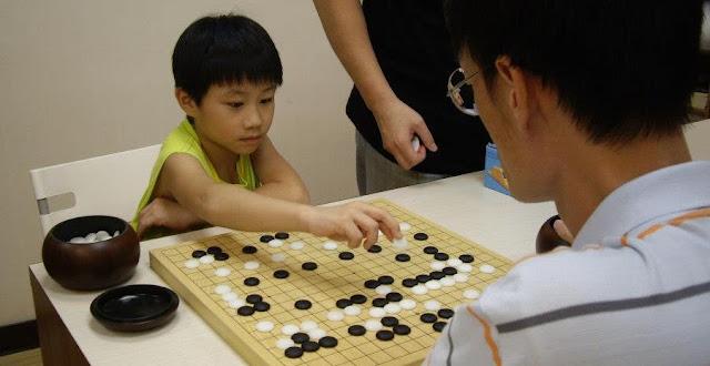 學圍棋更專心
