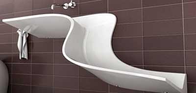 modern minimalist bathroom photos
