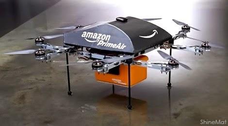 Amazon Prime Air drones